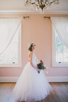 1920s style wedding inspiration with gowns from Cleo and Clementine http://www.cleoandclementine.com/.  Photography by http://www.angelacoxphotography.com/