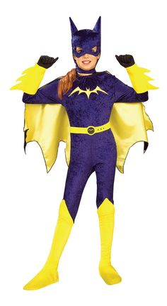 Gotham Girls Batgirl Costume - Batgirl Costumes