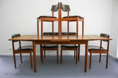 Mid Century Chiswell Dining Table & Chairs x 6 Teak Vintage Retro Danish Parker Eames Scandi era in Home & Garden, Furniture, Dining Room Furniture | eBay 360 Modern Furniture