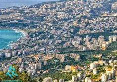 LEBANON, VIEW OF GHAZIR, VERY DEVELOPED