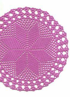 Wedding Doily Crochet doily lace doilies crocheted by DoilyWorld Crochet Doily Rug, Crochet Dollies, Crochet Doily Patterns, Crochet Quilt, Crochet Poncho, Crochet Squares, Crochet Home, Crochet Gifts, Hand Crochet