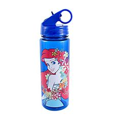 Silver Buffalo DQ7564 Disney Little Mermaid Pose BPAFree Tritan Water Bottle 20 oz Blue ** You can find out more details at the link of the image.Note:It is affiliate link to Amazon.