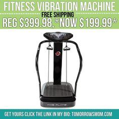 Fitness ppl know this is a steal!! Get your machine to complete your home gym GO to link in my bio @tomorrowsmom for details . . . . Visit My Blog: TomorrowsMom.com |Organic & Natural Deals|Family Savings Deals| . TAG OR DM THIS DEAL 2 A FRIEND . . #frugal #savings #deals #cosmicmothers  #organic #fitmom #health101 #change #nongmo #organiclife #crunchymama #organicmom #gmofree #organiclifestyle #familysavings  #healthyhabits #lifechanging #fitpeople #couponcommunity #deals  #healthyppl…