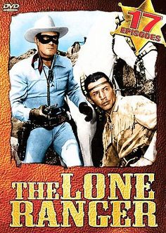 The Lone Ranger DVD Set Two Double-Sided Discs 17 Episodes New Sealed