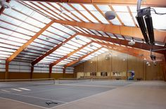Sports Palace Indoor Tennis Court