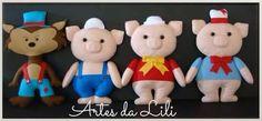 3 lil pigs