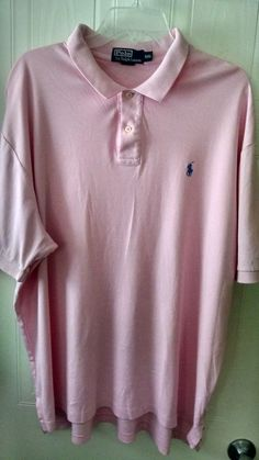 Polo by Ralph Lauren Men's Shirt Polo Size XXL Pink #PoloRalphLauren #PoloRugby