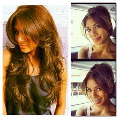 New hair cut?.., choppy long layers