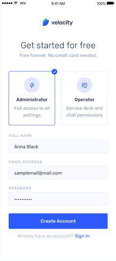 Velocity: A dashboard UI kit with a robust design system Ios App Design, Mobile App Design, Logo Design, User Interface Design, Ui Design Tutorial, Landing Page Inspiration, App Design Inspiration, Dashboard Ui, Ui Kit