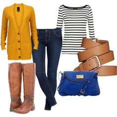 """""""Mustard cardi obesssions"""" by anitaalyciawoods on Polyvore"""