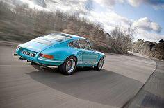 Great colors for a classic Porsche 911