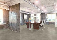 Expona Simplay loose lay luxury vinyl tile flooring - Light Grey Ornamental