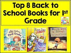 Mrs. Wheeler's First Grade Tidbits: 8 Essential Books for 1st Grade {BTS Edition}