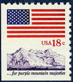 1eac01bd51dc Arago  Flag   Anthem Issue · Postage StampsFlagsStamp ...