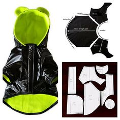 PDF dog coat sewing instructions ,Coat for dog, Sewing dog clothes, Dog clothes small Language English Size S: neck ~ chest girth ~ length ~ This listing included 1 PDF 26 step by step 21 pages Sewing level: experienced beginner, ex Dog Coat Pattern, Coat Patterns, Small Dog Clothes Patterns, Dog Jacket, Pet Fashion, Dog Wear, Dog Sweaters, Dog Dresses, Dog Coats