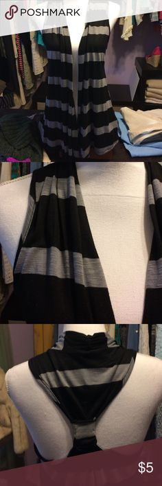 Striped Flowing Vest So soft and pretty! Great with pair of jeans and tank top. Ambiance Apparel Jackets & Coats Vests