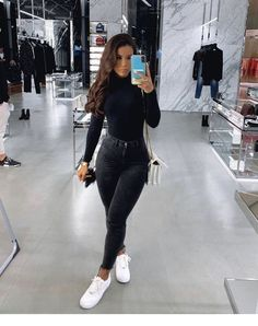 Outfit of the Day Fashion Trend Fashion De essentie van mode-outfits . Trend Fashion, Fashion Mode, Winter Fashion Outfits, Look Fashion, Fall Outfits, Fashion Ideas, Fashion Clothes, Clothes Women, Simple Winter Outfits