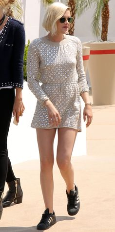 Every Time Kristen Stewart Wore Sneakers at Cannes Film Festival - After the Personal Shopper photocall from InStyle.com