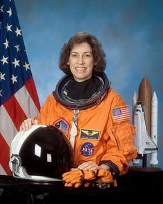  Share Ellen Ochoa United States First Hispanic woman in space Missions: STS-56 (Apr. 8, 1993), STS-66 (Nov. 3, 1994), STS-96 (May 27, 1999) and STS-110 (Apr. 8, 2002)
