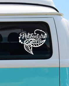 Adventure Bohemian Vinyl Decal Sticker - Car Sticker - Window Decal by BrokeGirlGraphics on Etsy