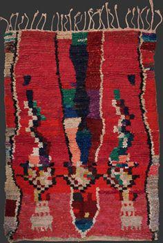 boucherouite Moroccan Berber rag rug TM 1453