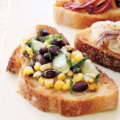 Grilled Corn and Black Bean Salsa