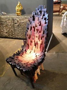 Roccapina VI chair by Ian Spencer and Caim Young of the Yard Sale Project