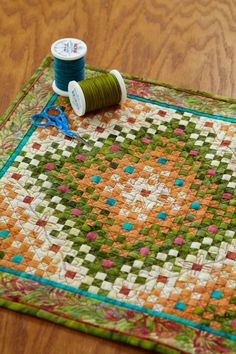 Cute miniature quilt