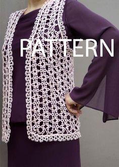 Patrón patrón del chaleco de Cro-fantasia por FairyLacebyElena
