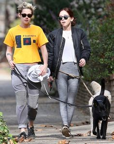 Kristen Stewart Steps Out with Sara Dinkin a Day After Holding Hands Amid Rumored Stella Maxwell Split Kristen Stewart And Stella, Stella Maxwell, Stepping Out, Walk On, Holding Hands, Amsterdam, Rainbow, Hand In Hand, Rainbows