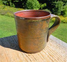 Wood-fired seto mug coffee mug split-fire by splitfirepottery