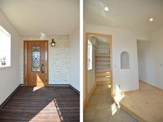 玄関:3帖<br /> 土間続きのシューズクロークからも家の中に入れます。