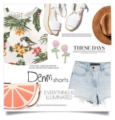 """""""Tropical day"""" by fantasticbabe ❤ liked on Polyvore featuring Paloma Barceló, MANGO, Kate Spade and Big Bud Press"""