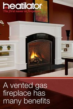 Gas Fireplaces Fireplaces And Vented Gas Fireplace On Pinterest