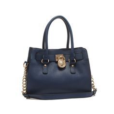 Michael Kors Weston LG NS Shoulder Bag Turquoise in blau