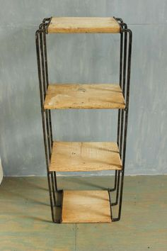 Edgy French Modern Etagere | From A Unique Collection Of Antique And Modern  Industrial Furniture At