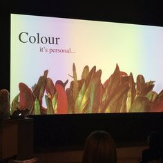 Colour it's personal... use colour to express your personality not someone else's www.karenhaller.co.uk