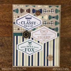 Truly Tailored- Stampin' Up