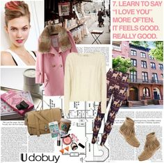 """Cute Pink Coats"" by electric-bird ❤ liked on Polyvore"