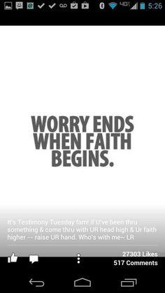 Worry....