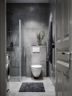 interior Home depot porta do banheiro Bathroom Design Luxury, Modern Bathroom Design, Interior Design Living Room, Small Bathroom Interior, Room Decor Bedroom, Diy Room Decor, Canapé Design, Laundry In Bathroom, Studio