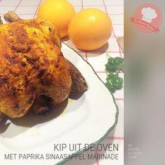 Kip met paprika sinaasappel marinade