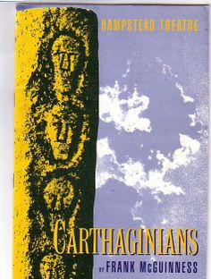 Carthaginians Hampstead Theatre Programme 1988 with Sorcha Cusack Ref.553