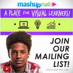 Want exclusive access to everything MashUp Math is up to? ➩Click the link on our page bio and join our mailing list :envelope_with_arrow: to receive our FREE weekly email newsletter :newspaper:, which shares our latest video lessons, blog posts, teacher r Teacher Worksheets, Math Teacher, Teacher Resources, Fun Math Games, Free Math, Student Engagement, Teaching Strategies, Latest Video, Newspaper