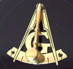 Freemason Lodge door knocker.