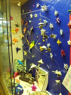 Another view of origami display
