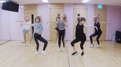 APink remember dance practice