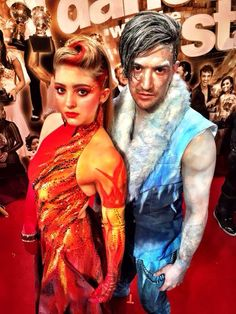 "Dancing With the Stars - Mark Ballas & Willow Shields danced a cool,colorful Argentine Tango to Gotye & Kimbra's ""Somebody That I Used to Know"" - week-1 - season-20 - spring 2015 - score 8+8+8+8 = 32"