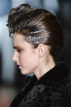 The Best Haute Couture Beauty Looks From Spring 2015 - On Aura Tout Vu - Elle