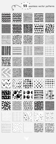 Hand-drawn patterns by Librebird on Easy Doodle Art, Doodle Art Designs, Doodle Art Drawing, Doodle Patterns, Zentangle Patterns, Easy Patterns To Draw, Zentangles, Cute Easy Drawings, Cool Art Drawings